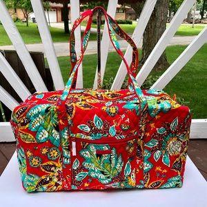 Vera Bradley Large Duffel Bag in RUMBA
